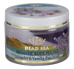 Dead Sea, C&B, Body Peeling Lavender Vanilla Patchouli, Vol.12fl.oz/350ml