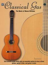 Classical Gas The Music of Mason Williams Guitar TAB Music Book/CD