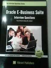 Oracle E-Business Suite Interview Questions You'll Most - Publishers, Vib NEW Pa