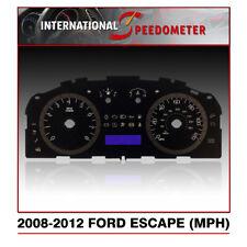 2008 - 2012 Ford Escape Speedometer Faceplate (MPH)