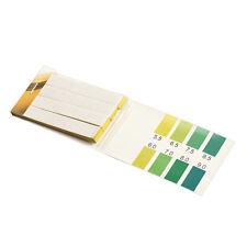 80 Alkaline Paper Test Strips PH Range 6.4-8.0 Indicator Test Papers Kit
