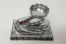 Hand of Compassion Metal Burner, incense stick cone holder