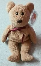 RARE Ty Beanie Baby Curly Bear With Many Errors