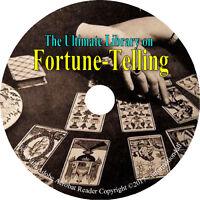 25 Books on CD – Ultimate Library on Fortune Telling, Teller Tarot Future