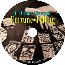 25 Books on CD – Ultimate Library on Fortune Telling, Teller Tarot Future