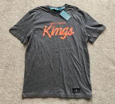 "Kings Apparel ""Reign Supreme"" T-shirt. Size L (38""). Grey. 100% cotton. RRP £ 27."