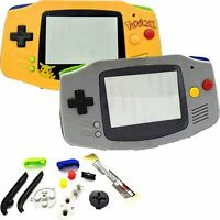 For Nintendo GameBoy Advance ABS Hardcase Housing GBA Console Case Shell Parts
