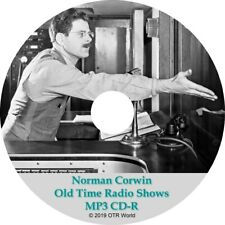 Norman Corwin Old Time Radio Shows OTR OTRS 8 Episodes MP3 CD-R