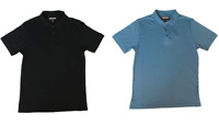 NEW Kirkland Signature Men's Short Sleeve Supima Cotton Polo - MEDIUM