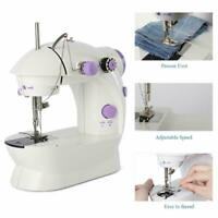 Electric Portable Mini Sewing Stitch Machine Adjustable Pedal LED Foot G7W3