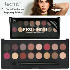 Technic Pro Finish Professional Colour Eyeshadow Pigmented Palette Raspberry