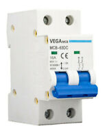 DC-Breaker / DC-Trennschalter / PV Solar  / 16A / 800 VDC / 2 Polig / Vega MCB