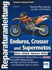 Enduros Crosser Enduro KTM Reparaturanleitung Reparaturbuch Reparatur-Handbuch