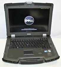 """14"""" WXGA Dell Latitude XFR E6400 Core2 4GB 120SSD MILSPEC Ballistic Armor Rugged"""