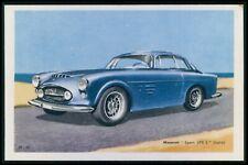 Maserati Sport 300S Italy Automobile car original old 1950s Tobler postcard