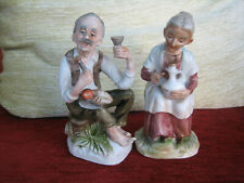 PAIR OF ROYAL PORZELAN FIGURINES