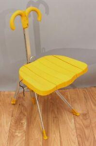 RARE Gaetano Pesce for Zero Disegno Italian Modernist Folding Umbrella Chair, NR
