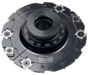 HW-WPL-Verstellnuter  mit Gewindeb. 160mm Nutbreite4-7,5 Bohrung 30mm Z4+V4GUHDO