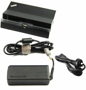 Lenovo Thinkpad Tablet 2 Dock USB HDMI LAN Docking Station 04X0378 *INC PSU*