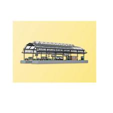 KIBRI N SCALE RAILWAY STATION MODEL KIT | SHIPS IN 1 BUSINESS DAY | 37758