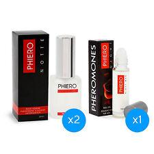 2 Phiero Notte + 1 Phiero Night Man: Pheromone perfumes for men
