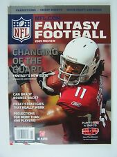 NFL.Com Fantasy Football 2009 Preview Single Issue Magazine