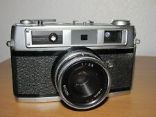 Rank Aldi 35mm Rangefinder Film Camera + Case - Good Condition - New battery.