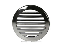"BOAT MARINE RV TRAILER 3"" Stainless Steel Clad Airflow Vent 3.25"" Cutout AC HEAT"
