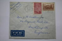 TORONTO CANADA AIRMAL 1939 FLIGHT COVER TO UK SOUTHAMPTON A95 DAIR133