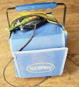 aqua vu underwater camera fishing ice fishing Pan fish cam working