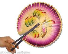 Original Old Beautiful Rare Paper Handmade Chinese Hand Fan. G62-6