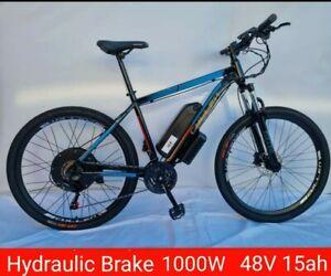 1000W 48V 15AH Hydraulic Brake 27.5 Rim with pedal assist CULLEN VERSION 3