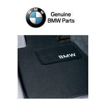 BMW E36 318i 323i 325i 328i Base Convertible Set of 4 Black Floor Mats Genuine