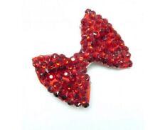 Accessoires de coiffure barrettes rouge pour fille de 2 à 16 ans