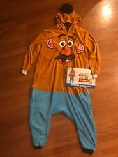 Mr Potato Head Adult M Toy Story Hooded Costume Union Suit Nwt