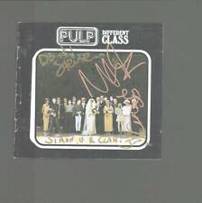 Pulp multi signed autograph CD UACC AFTAL online COA