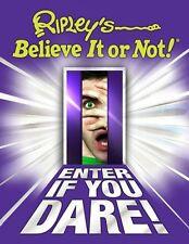 Ripleys Believe It Or Not! Enter If You Dare (ANNUAL) by Ripleys Believe It o