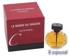 LE BAISER DU DRAGON BY CARTIER 0.25oz/7.5ml EDP MINI SPLASH FOR WOMEN NEW IN BOX