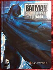 Batman Miniature Game Rulebook - Knight Models - NEW