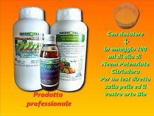 OLIO DI NEEM SOLUBILE 1L+ SAPONE MOLLE DI POTASSIO 1KG +NEEM CITRIODORA SC.50%