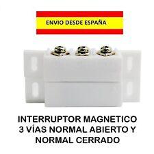 INTERRUPTOR SWITCHE MAGNETICO SEGURIDAD ALARMA DETECCIÓN NO/NC ELECTRICIDAD