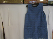 Robe bleu de Next UK 5 ans