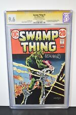 Swamp Thing #3 1973 CGC Graded 9.6 Signature Series Signed By Len Wein