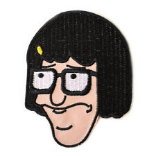 Tina Belcher Iron On Patch Bob Burgers Embroidered Sew On