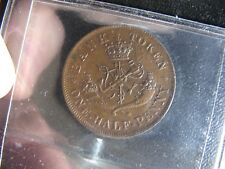 PC-5D ICCS AU-55 Halfpenny token 1857 Bank of Upper Canada Breton 720