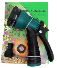 Garden Lawn Hose Nozzle Sprinkler Head Water Sprayer- 7 SPRAY PATTERNS US SELLER
