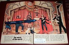 TV ARTICLE~GONG SHOW~GLORIA PITTS~DARRELL DEVLIN~CHARLES FRAHER~PAUL ZIEGLER