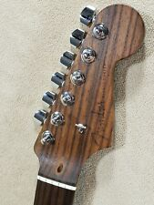 RARE '14 NOS Solid Rosewood FENDER STRATOCASTER Strat Neck 22 FRET Hand Rubbed