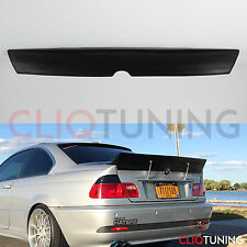 BMW E46 COUPE ROCKET BUNNY DUCKTAIL WING (2door trunk spoiler for drift, track )