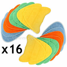 16 X PAVIMENTO COPERTURE pastiglie per VAX Total Home Bare Floor LAVAPAVIMENTI A VAPORE PRO